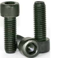 011 - 581 SOCKET HEAD CAP SCREWS, THERMAL BLACK OXIDE, ALLOY