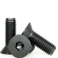 211-721 FLAT SOCKET CAP, THERMAL BLACK OXIDE, ALLOY