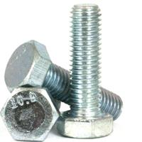 460 METRIC 10.9 HEX HEAD BOLT , SCREW, DIN 931  933, ZINC CR+3
