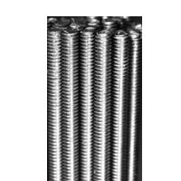 All Thread Rods, Grade A, National Coarse, Zinc Plated Steel (1/4 in-20), (5/16 in-18), (3/8 in-16), (7/16 in-14), (1/2 in-13), (5/8 in-11), (3/4 in-10), (7/8 in-9), (1 in-8), (1 1/8 in-7), (1 1/4 in-7), (1 1/2 in-6)