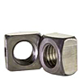 Square Nuts, Grade 2, National Coarse, Plain Steel