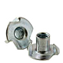 Tee Nuts (3 & 4 Pronge), Zinc Plated Steel