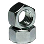 Hex Nuts, Grade 2, National Coarse & Fine, Zinc Plated Steel