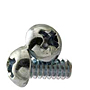 Phillips Round Head, Machine Screws, National Coarse, Zinc Plated Steel