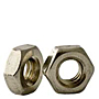 18-8 Stainless Steel Hex Machine Screw Nuts, National Coarse