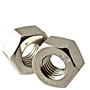 18-8 Stainless Steel Heavy Hex Nuts, National Coarse