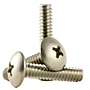 18-8 Stainless Steel Phillips Truss Head Machine Screws, National Coarse (6 in-32), (8 in-32), (10 in-24), (10 in-32), (1/4 in-20)