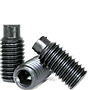 Dog Point Socket Set Screws, Black Oxide, Metric Coarse (M3-0.50), (M4-0.70), (M5-0.80), (M6-1.00), (M8-1.25), (M10-1.50), (M12-1.75), (M14-2.00), (M16-2.00), (M20-2.50), (M24-3.00)