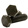 Hex Head Cap Screws, Grade 5, National Coarse & Fine, Plain Steel