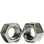 Hex Nuts, Grade 5, National Coarse & Fine, Zinc Plated Steel