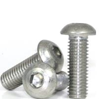 Button Head Socket Cap Screws, National Coarse & Fine