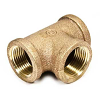 Tees, Threaded Bronze Pipe Fittings