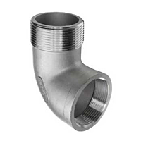 90 DEGREE STREET ELBOW STAINESS STEEL PIPE FITTING