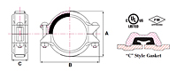 2230-lightweight-flexible-coupling-c-gasket-dimensions