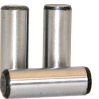 Dowel Pins, Alloy Thru Hardened (1/16), (3/32), (1/8), (3/16), (1/4), (5/16), (3/8), (7/16), (1/2), (5/8), (3/4), (7/8), (1)