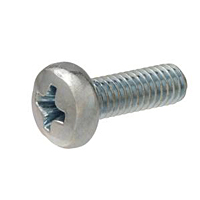 582A MACHINE SCREW, FILLISTER HEAD PHILLIPS, ZINC