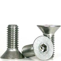 18-8 Stainless Steel Flat Head Socket Cap Screws, National Fine (0 in-80), (1 in-72), (2 in-64), (6 in-40), (10 in-32), (1/4 in-28), (5/16 in-24), (3/8 in-24)
