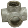SIDE OUTLET TEE GALVANIZED PIPE FITTING