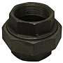 UNION BLACK STEEL PIPE FITTING