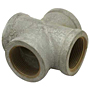 CROSS GALVANIZED STEEL PIPE FITTING