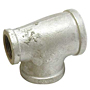 REDUCING TEE GALVANIZED STEEL PIPE FITTING