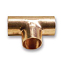 CCC Tees CxCxC, Copper Tube Fittings