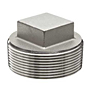 SQUARE PLUG STAINLESS STEEL PIPE FITTING
