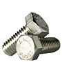 18-8 Stainless Steel Hex Head Cap Screws, National Coarse & Fine