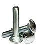 Carriage Bolts, Grade 5, National Coarse, Zinc Plated Steel (1/4 in-20), (5/16 in-18), (3/8 in-16), (7/16 in-14), (1/2 in-13), (5/8 in-11), (3/4 in-10)