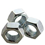 Hex Nuts, Class 8, Metric Coarse & Fine, Zinc Plated Steel
