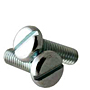 Slotted Pan Head Machine Screws, National Coarse, Zinc Plated Steel (2 in-56), (3 in-48), (4 in-40), (5 in-40), (6 in-32), (8 in-32), (10 in-24), (10 in-32), (1/4 in-20), (5/16 in-18)