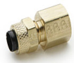 6148-PARKER-POLY-TITE-BRASS-FITTINGS-FEMALE-CONNECTOR-66P