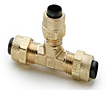 6158-PARKER-POLY-TITE-BRASS-FITTINGS-UNION-TEE-164P