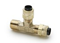 6162-PARKER-POLY-TITE-BRASS-FITTINGS-MALE-RUN-TEE-171P
