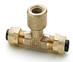 6164-PARKER-POLY-TITE-BRASS-FITTINGS-FEMALE-BRANCH-TEE-177P