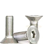 Flat Head Socket Cap Screws, Metric 18-8 Stainless Steel, Coarse (M2-0.40), (M3-0.50), (M4-0.70), (M5-0.80), (M6-1.00), (M8-1.25), (M10-1.50), (M12-1.75), (M16-2.00)